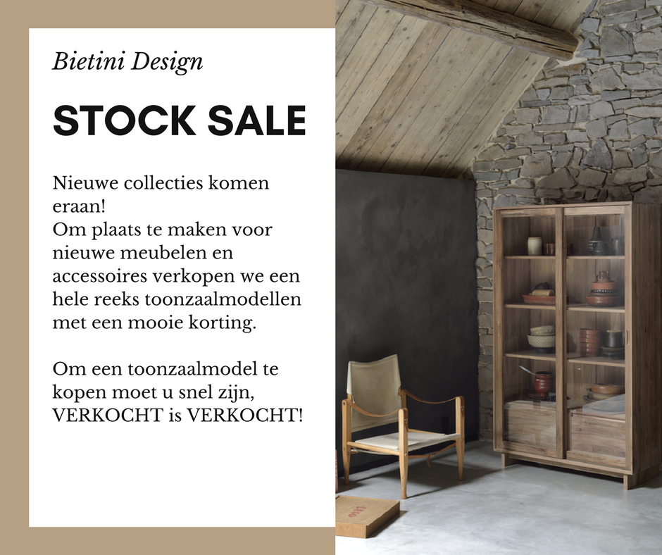 Bietini Design Stock Sale