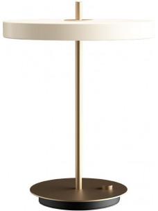 Asteria tafellamp - dimbaar led - parelmoerwit