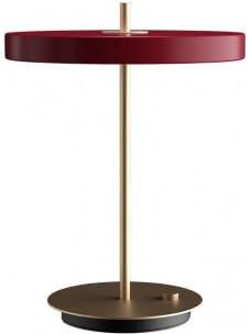 Asteria tafellamp - dimbaar led - robijn rood