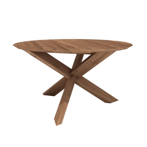 Teak Circle tafel 163 x 163 x 76 cm