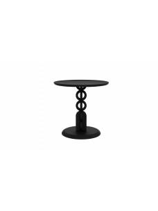 Oak Totem bijzettafel - zwart - 50 x 50 x 49 cm