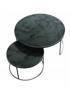 Charcoal Nesting Coffee Table Set