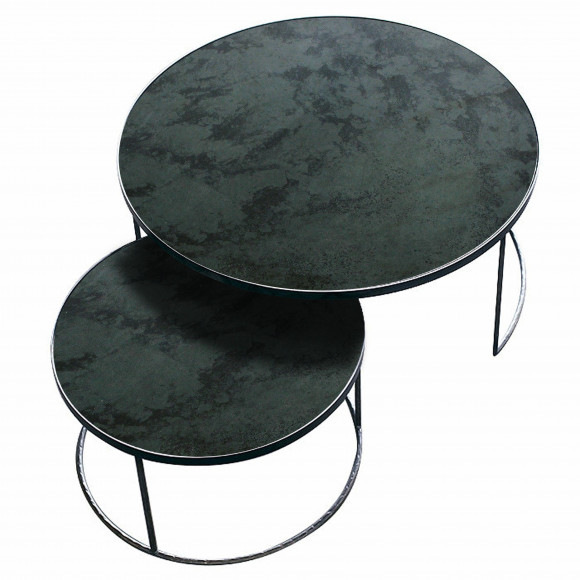 Charcoal Nesting Coffee Table Set