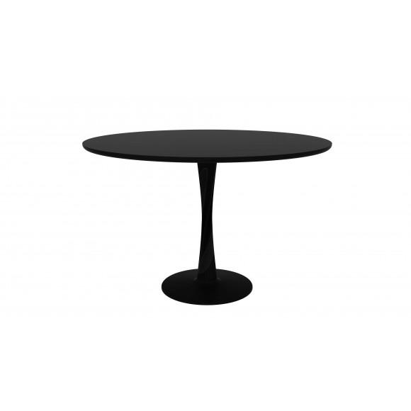 Eik Torsion ronde tafel zwart 127 x 127 x 76 cm