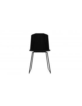 Oak Facette stoel - zwart
