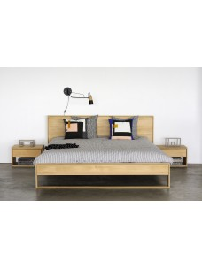 Oak Nordic II bed - zonder latten - matras afmeting 180-200