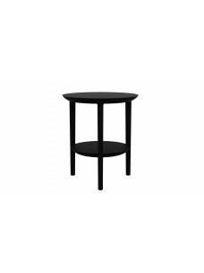 Oak Bok bijzettafel - zwart - 43 x 43 x 50 cm