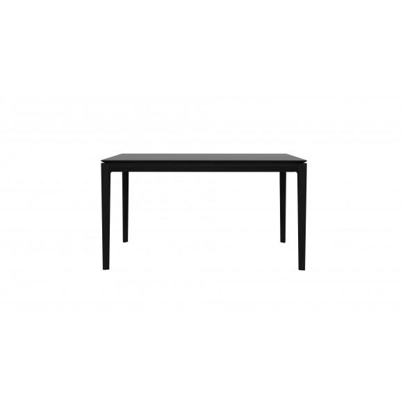 Oak Bok eettafel - zwart - 140 x 80 x 76 cm