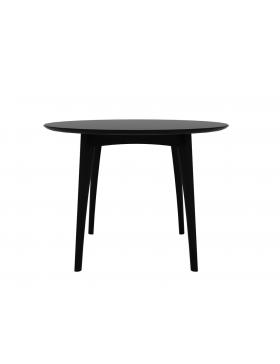 Eik Osso ronde tafel hoog zwart 120 x 120 x 88 cm