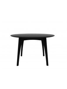 Eik Osso ronde tafel zwart 120 x 120 x 75 cm