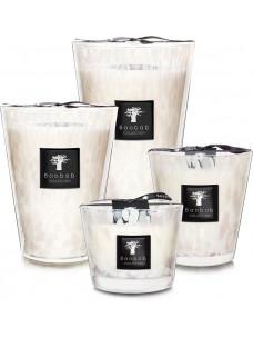 Geurkaars Baobab White Pearls