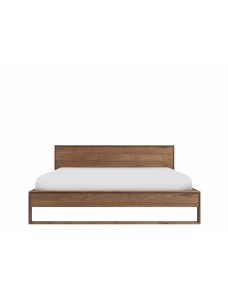 teak nordic ii bed zonder latten matras afmeting 180 200