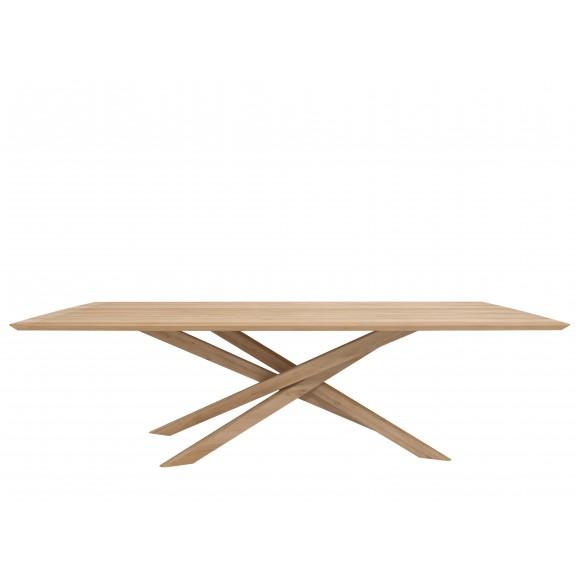 Oak Mikado eettafel - 240 x 110 x 76 cm