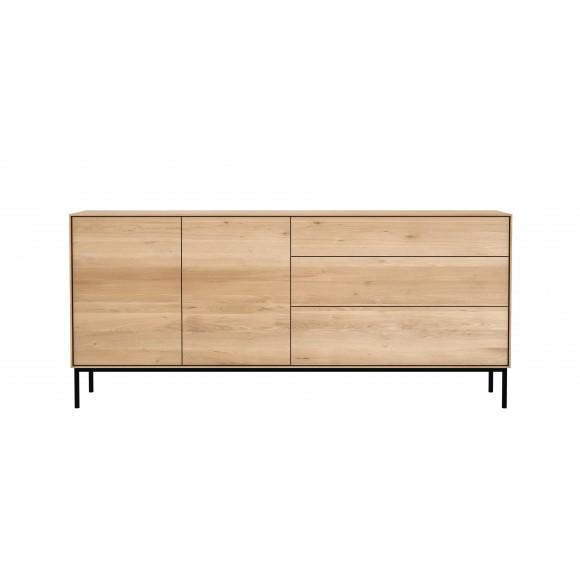 Oak Whitebird dressoir - 2 deuren - 3 lades