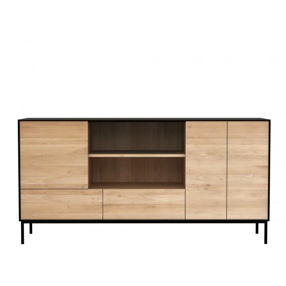 Oak Blackbird dressoir - 3 deuren - 2 lades