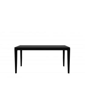 Oak Bok eettafel - zwart - 160 x 80 x 76 cm