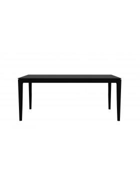 Oak Bok eettafel - zwart - 180 x 90 x 76 cm