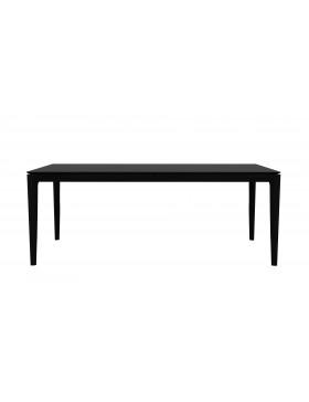 Oak Bok eettafel - zwart - 200 x 95 x 76 cm
