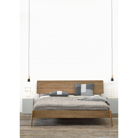Teak Air bed - zonder latten - matras afmeting 180-200