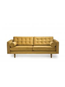Sofa 3 zit Gold velvet