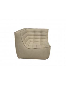 N701 hoek sofa beige