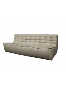 N701 3- zit sofa beige