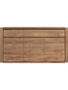 Teak Elemental dressoir - 3 deuren - 3 lades