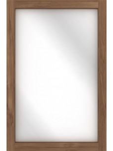 Teak Light Frame spiegel 90 x 5 x 60 cm