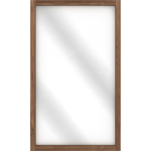 Teak Light Frame spiegel 90 x 5 x 150 cm