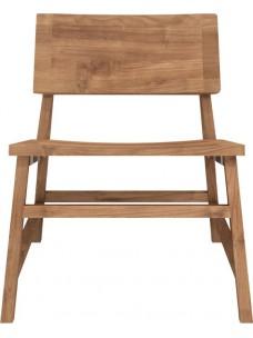 Teak N2 lounge stoel