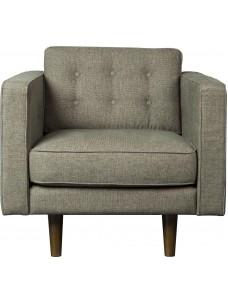 Sofa 1 zit Olive Green (zonder kussens)