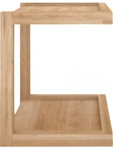 Oak Frame sofa bijzettafel