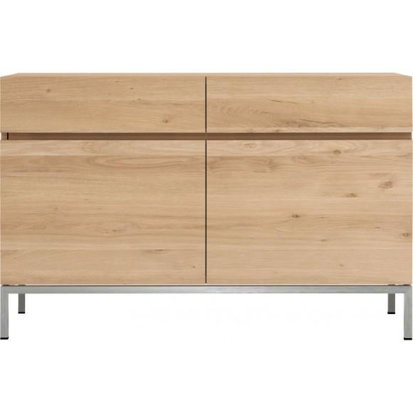 Oak Ligna dressoir - 2 deuren - 2 lades