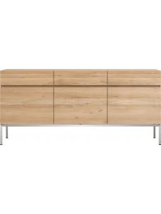Oak Ligna dressoir - 3 deuren - 3 lades