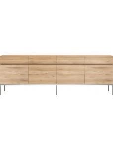 Oak Ligna dressoir - 4 deuren - 4 lades
