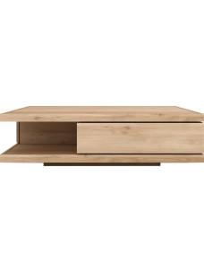 Oak Flat salontafel - 2 lades 130 x 80 x 37 cm
