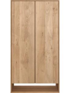 Oak Nordic kleerkast - 2 deuren