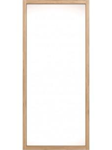 Oak Light Frame spiegel 90 x5 x200