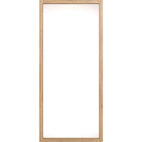 Oak Light Frame spiegel 90 x5 x200