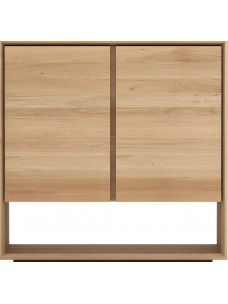 Oak Nordic dressoir - 2 deuren