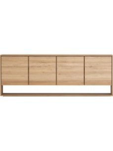 Oak Nordic dressoir - 4 deuren