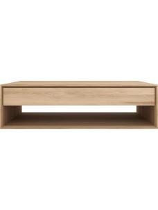 Oak Nordic salontafel - 1 lade 120 x 70 x 35 cm