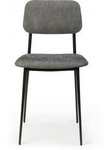 DC stoel - donkergrijs
