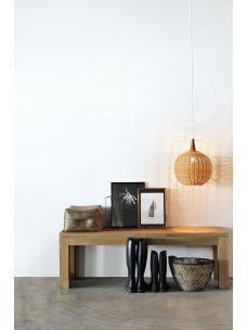 Oak Straight bank 140 x 35 x 45 cm