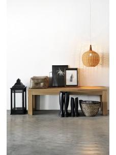 Oak Straight bank 160 x 35 x 45 cm