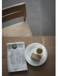 Oak Slice eettafel - poten 10 x 10 cm - - 160 x 90 x 77 cm