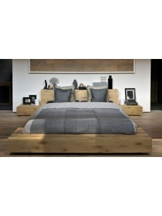 Oak Madra bed - zonder latten - matras afmeting 180-200