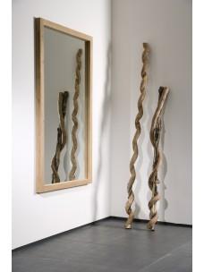 Oak Light Frame spiegel 90 x5 x150