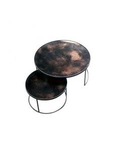Bronze Nesting Coffee Table Set