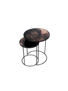 Bronze Nesting Side Table Set